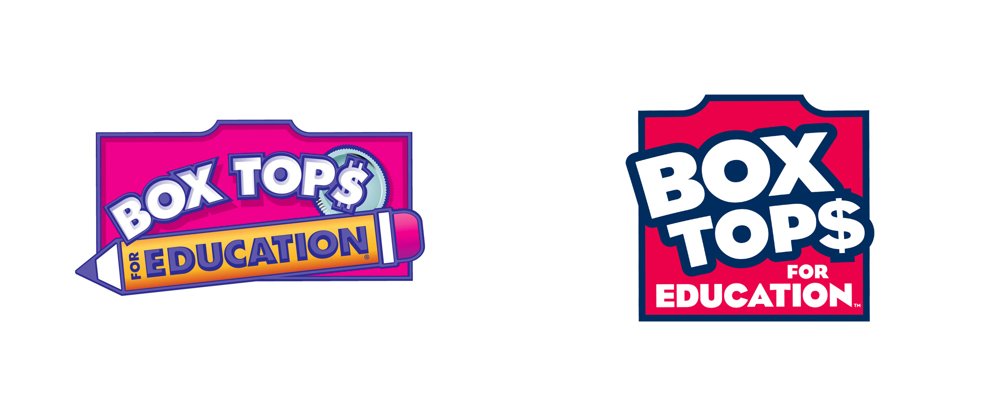 New Logo for Box Tops for Education