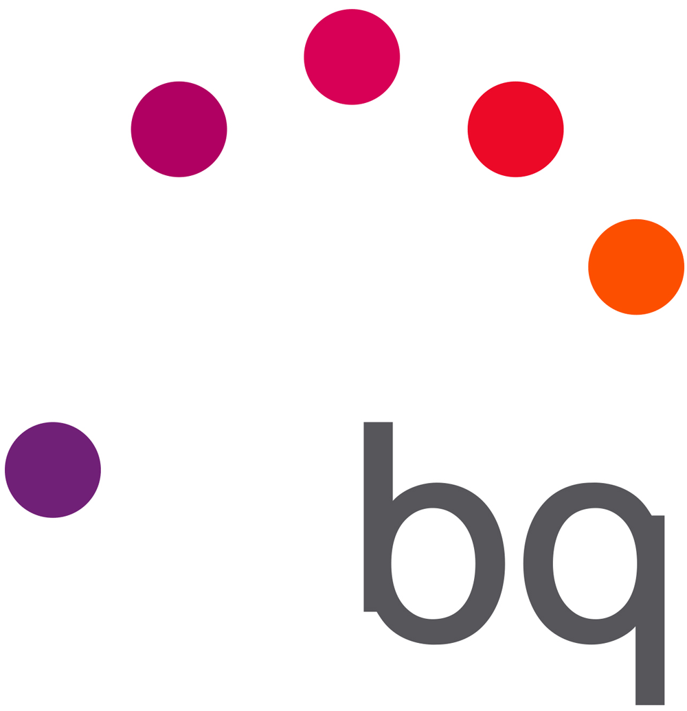 New Logo and Identity for BQ by Saffron