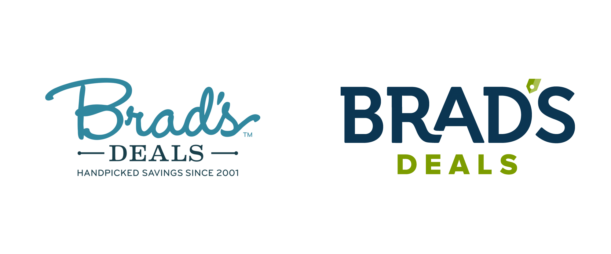 New Logo for Brad's Deals