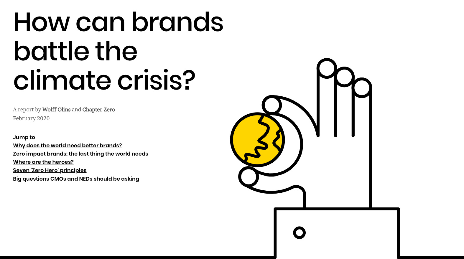 Brands and Climate Change