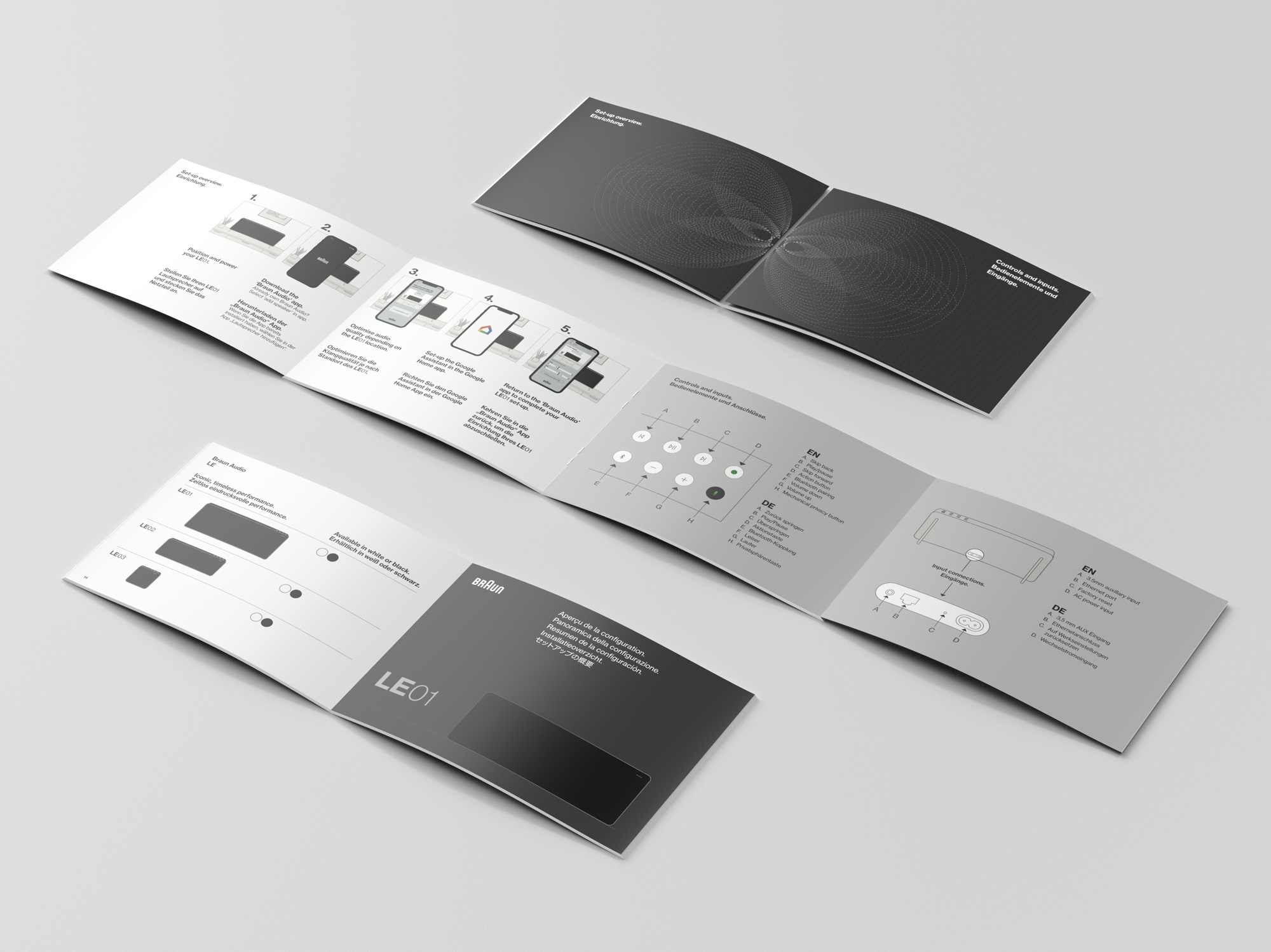 New Identity and Packaging for Braun Audio by Precipice Design