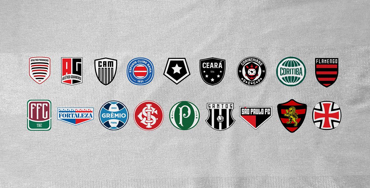 Brazil Série A Logo Redesigns