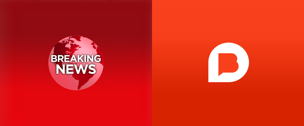 New Logo for Breaking News