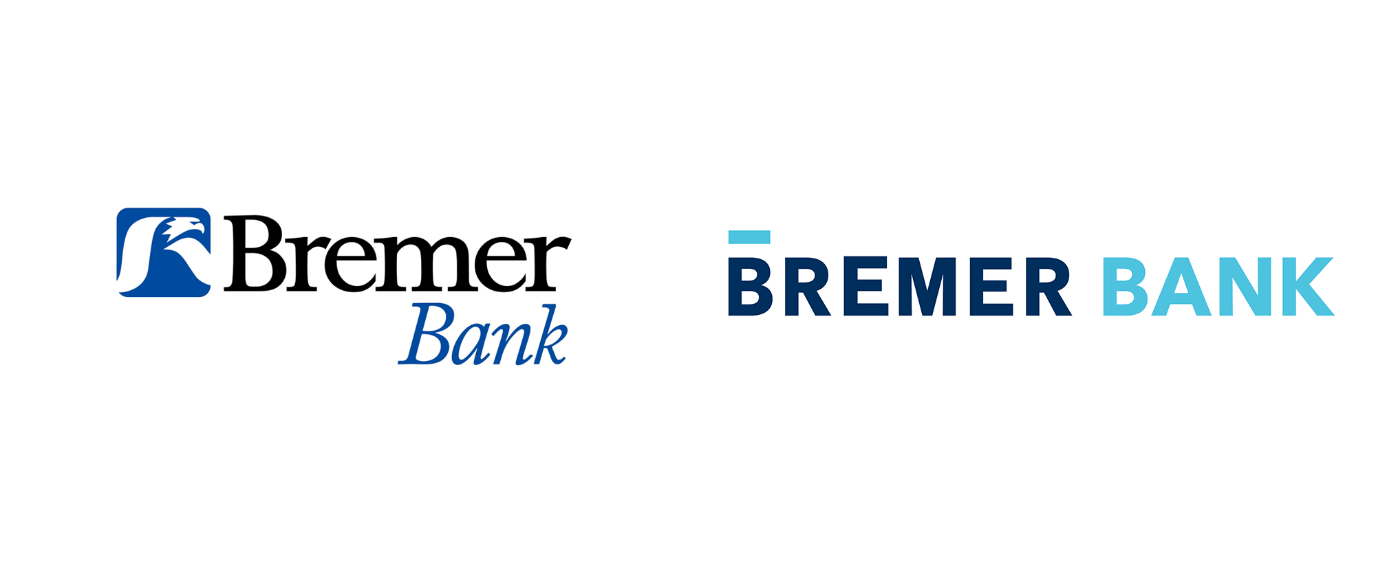 New Logo and Identity for Bremer Bank by Little