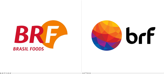 BRF Logo, Before and After