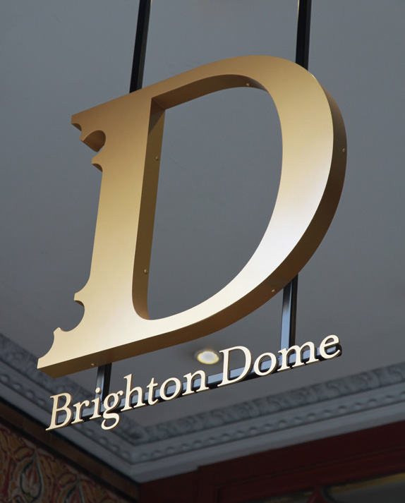 Brighton Dome Logo and Identity