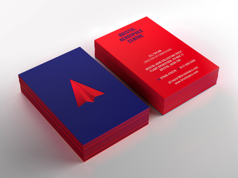 Paper Airplane Business Cards | Best Business Cards