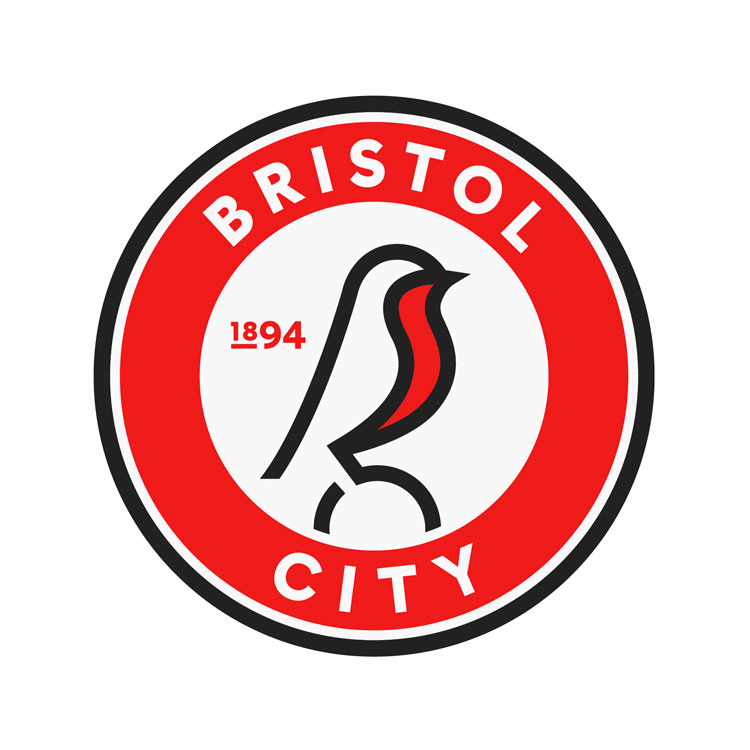 New Logo and Identity for Bristol City FC by Mr B & Friends