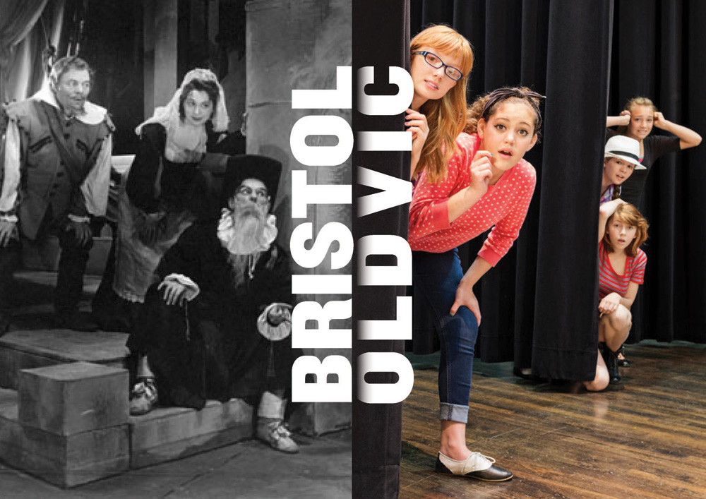 New Logo and Identity for Bristol Old Vic by Eureka!