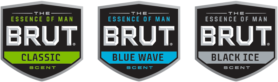 New Logo and Packaging for Brut by Beardwood