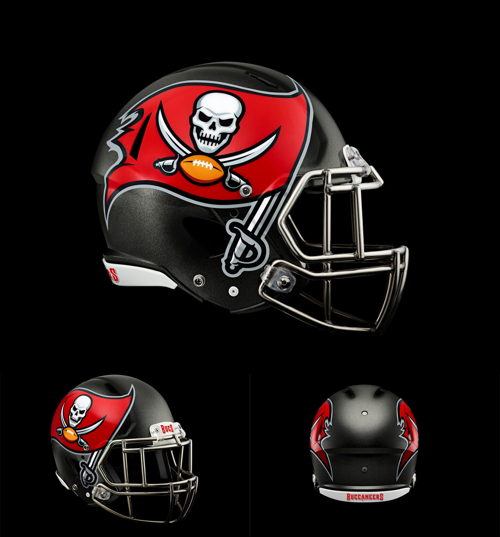 Brand New New Logo Identity And Helmet For Tampa Bay