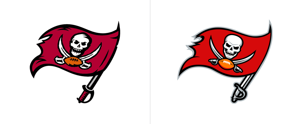 Brand New: New Logo, Identity, and Helmet for Tampa Bay ...