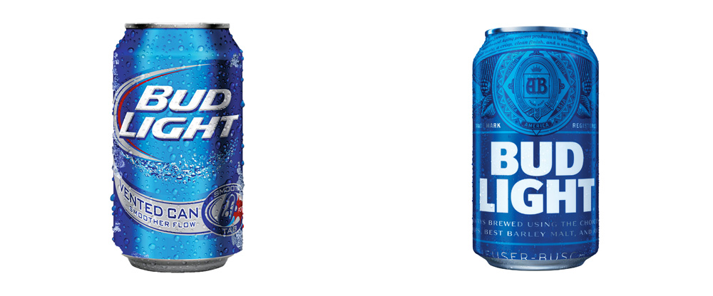 New Packaging for Bud Light by Jones Knowles Ritchie