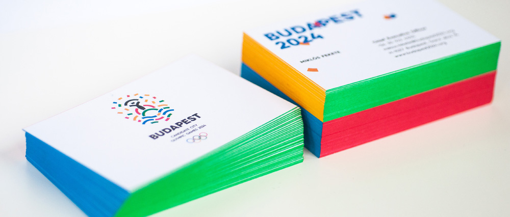 New Logo for Budapest 2024 Candidate City by Graphasel