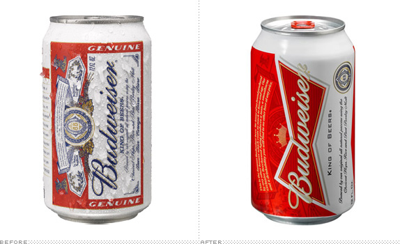 Budweiser Can, Before and After