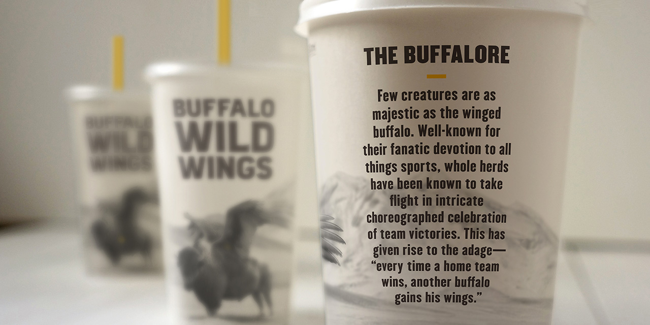 New Logo and Identity for Buffalo Wild Wings by Interbrand