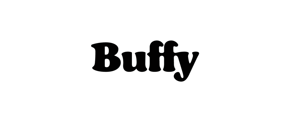 New Logo and Identity for Buffy by Pentagram