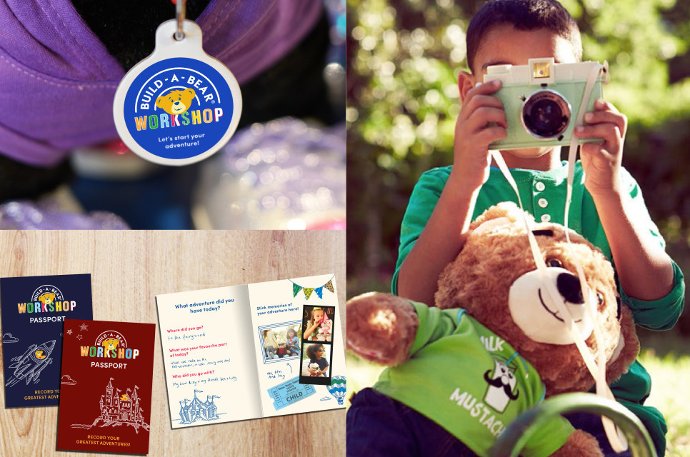 New Logo and Identity for Build-a-Bear by Idea is Everything