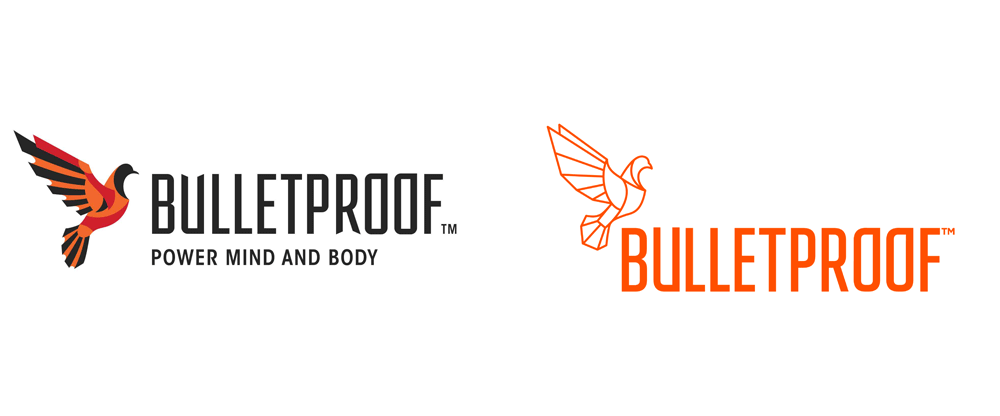 brand new  new logo  identity  and packaging for bulletproof by emblem