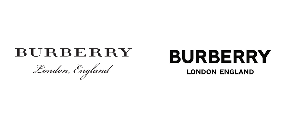 New Logo for Burberry by Peter Saville