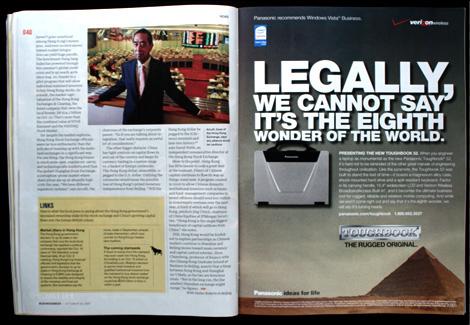 BusinessWeek Spread