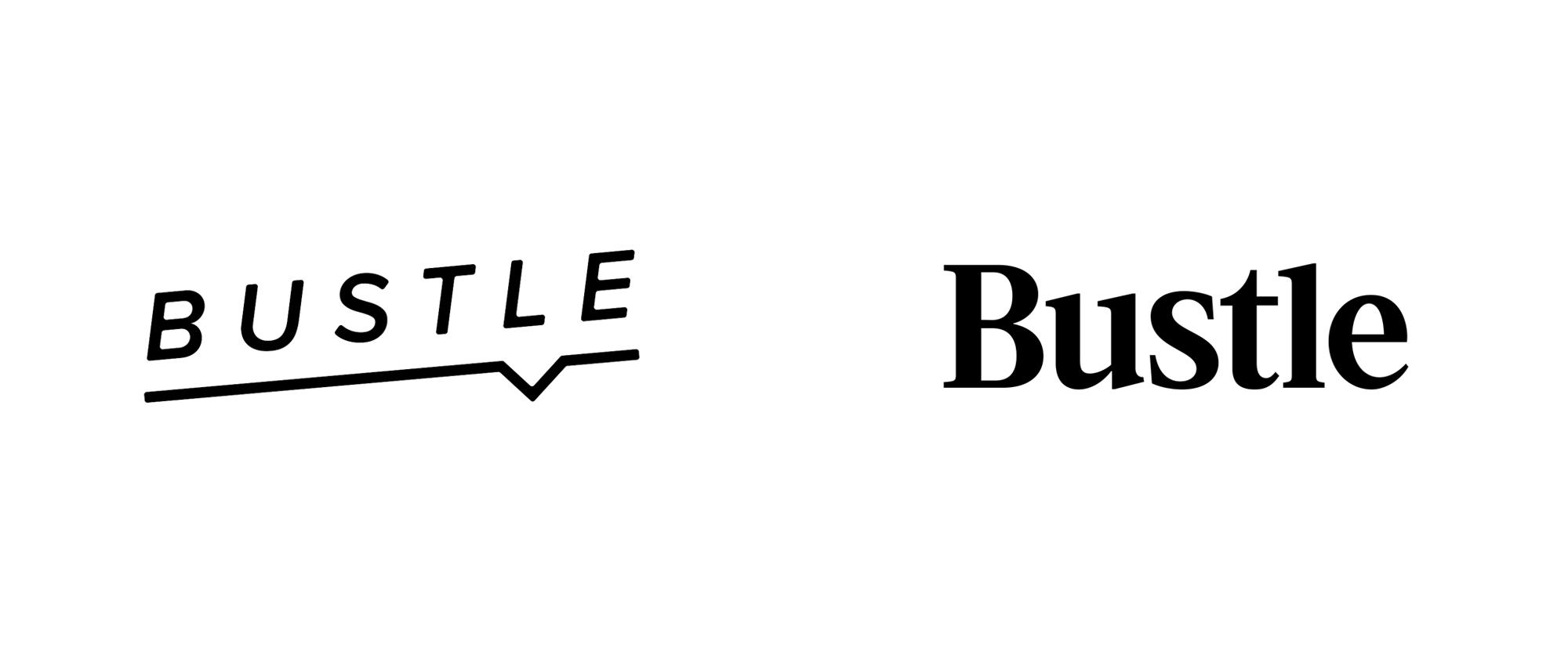 New Logo for Bustle