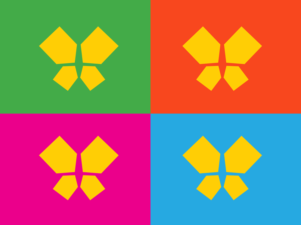 New Logo and Identity for Butterfly Home by Interbrand