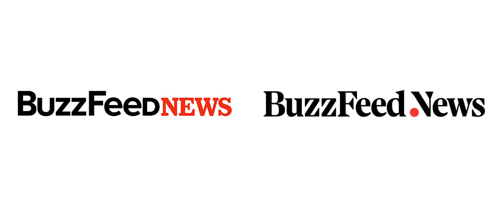 New Logo for BuzzFeed News