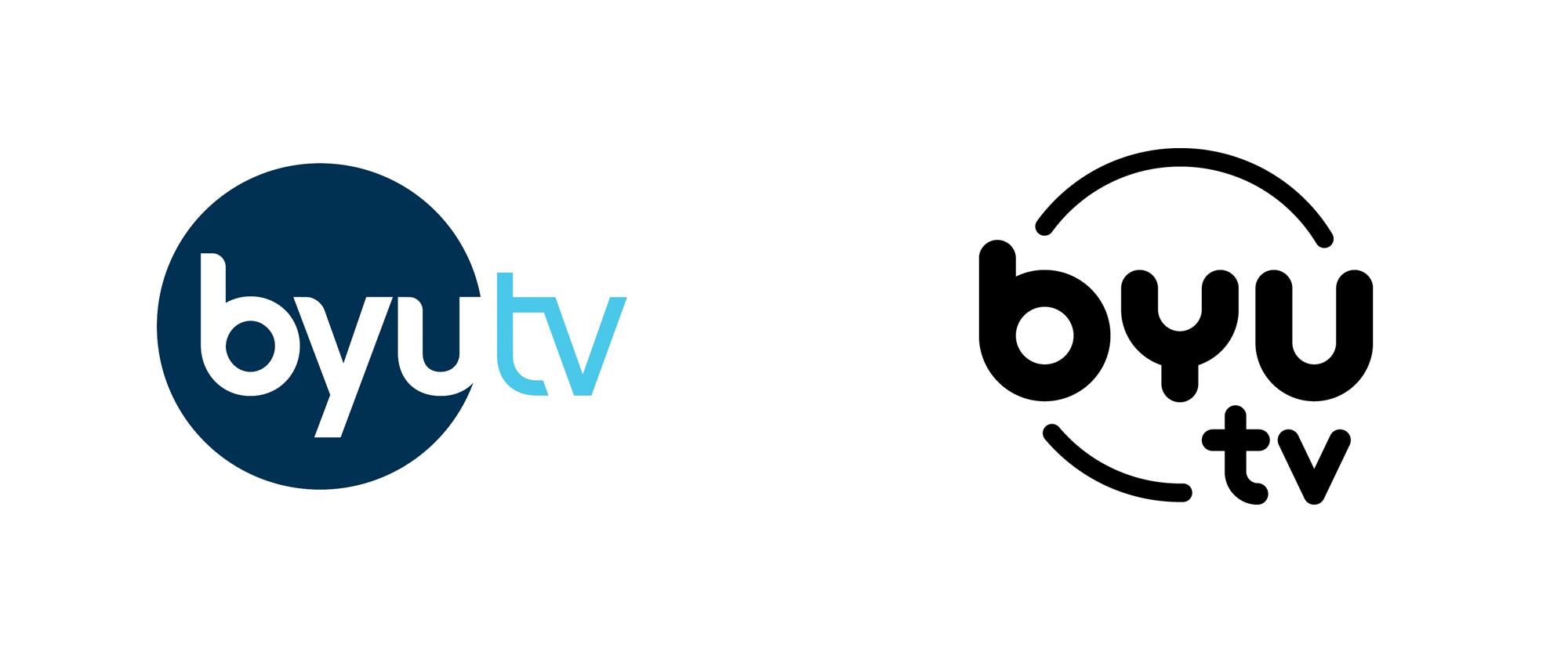 New Logo and On-air Look for BYUtv by Troika