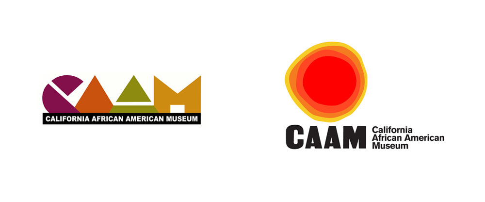 New Logo and Identity for California African American Museum by Julia Luke Design