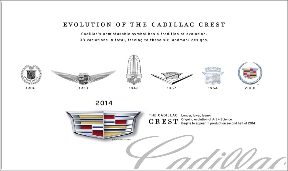 Brand New New Logo For Cadillac