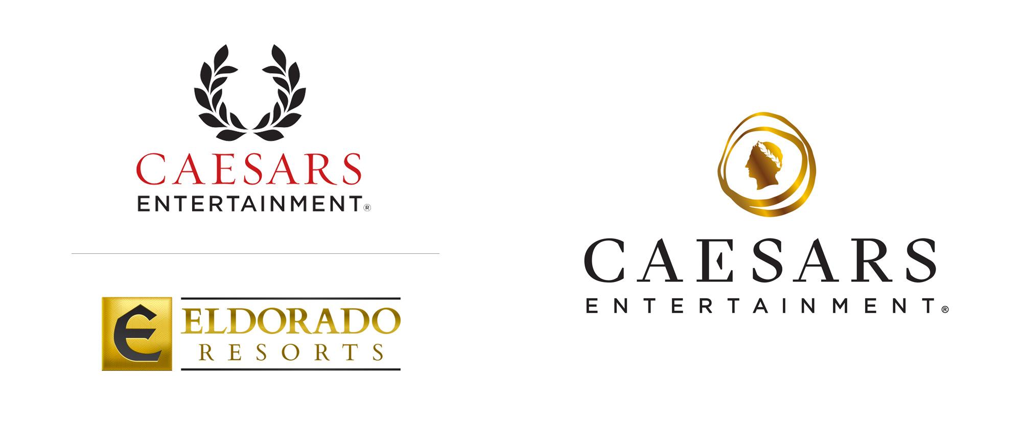New Logo for Caesars Entertainment
