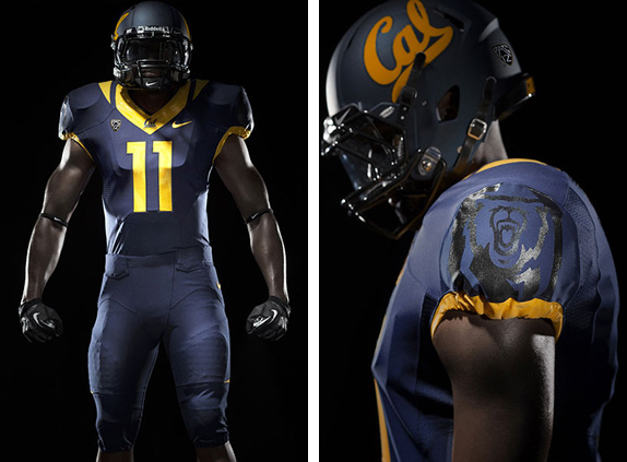 University of California Athletic Department Logo and Uniforms
