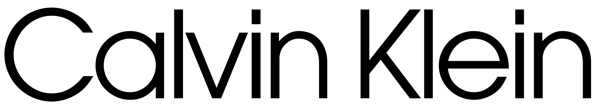 New Logo for Calvin Klein by Peter Saville