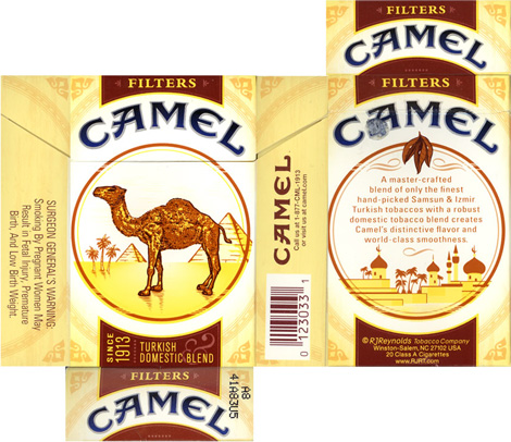 Camel Pack New, Flat