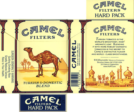Camel Pack Old, Flat