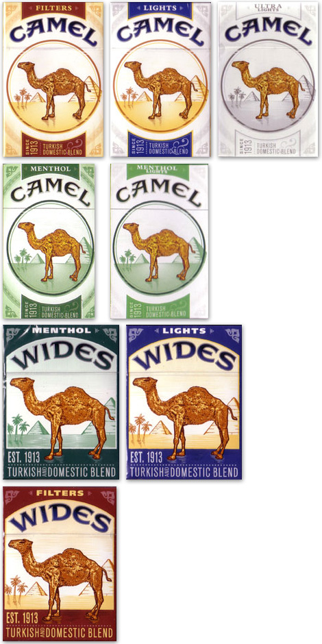 Camel Pack, Full Line