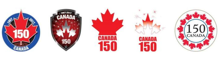 Canada Tests Anniversary Logos