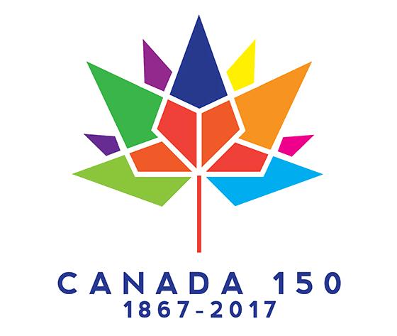 New Logo for Canada 150 by Ariana Mari Cuvin