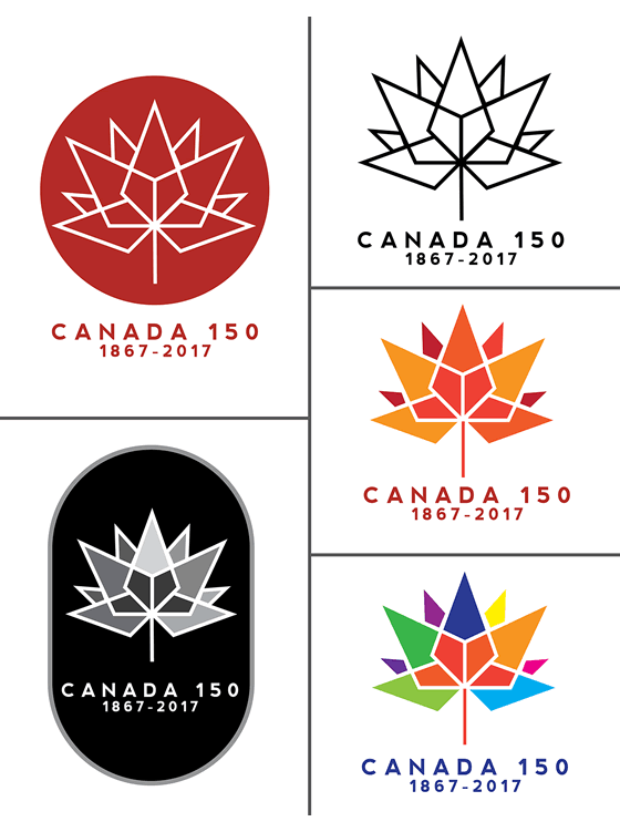 New Logo for Canada 150 by Ariana Mari Cuvin