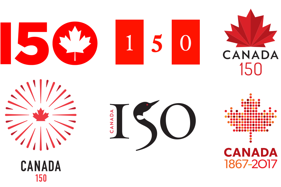 Canada 150 Alternate Logos