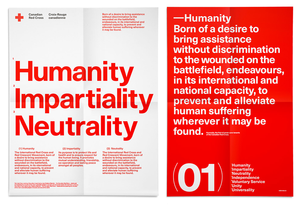 New Logo and Identity for Canadian Red Cross by Concrete