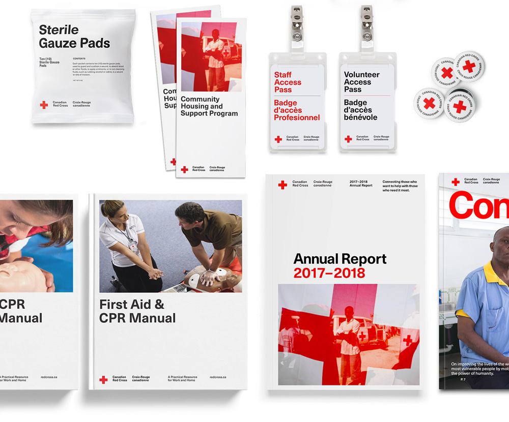 Brand New: New Logo and Identity for Canadian Red Cross by