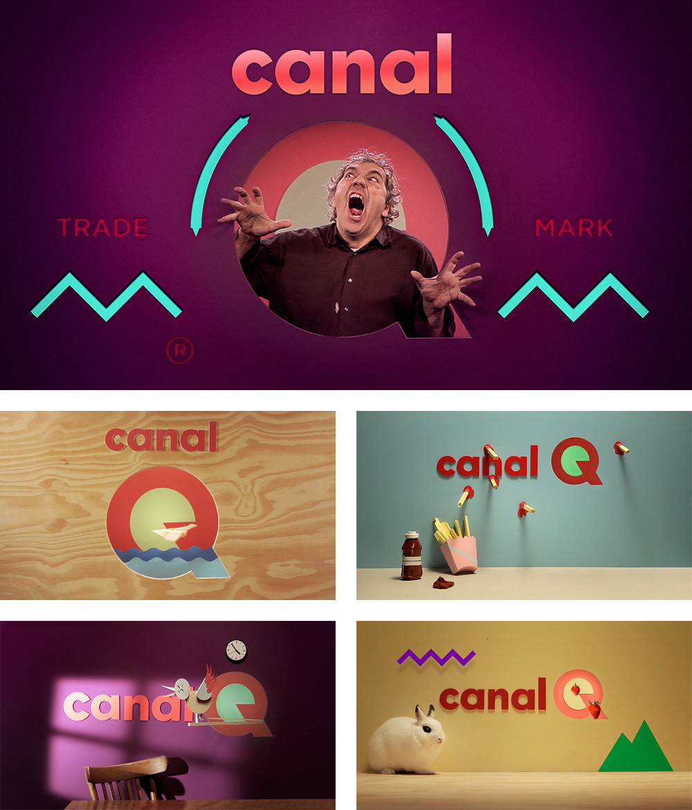 New Logo and On-Air Look for Canal Q by Silvio Teixeira, HomemBala, Nuno Alves, and Moullinex