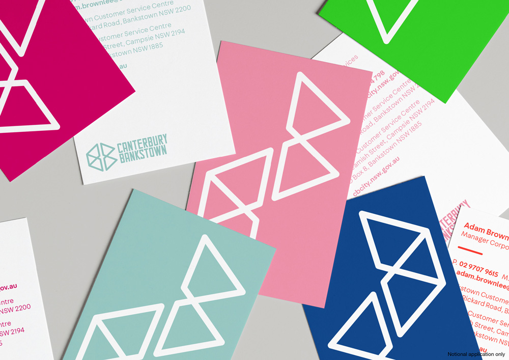 New Logo and Identity for Canterbury-Bankstown Council by Frost*collective