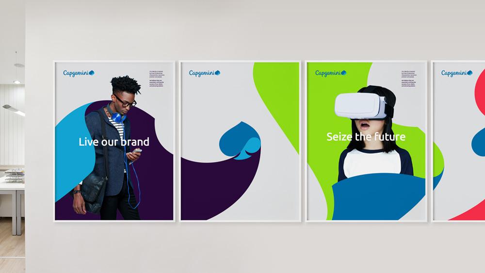 New Logo and Identity for Capgemini by BrandPie