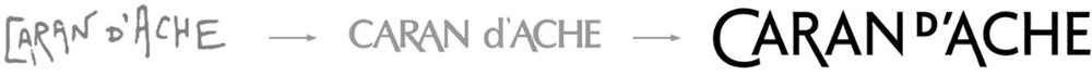 New Logo for Caran d'Ache by Base