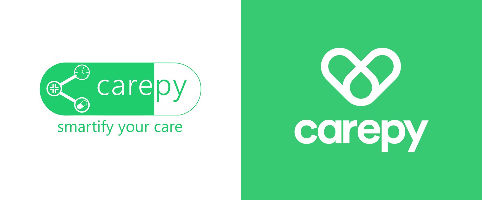 New Logo and Identity for Carepy by Superklas