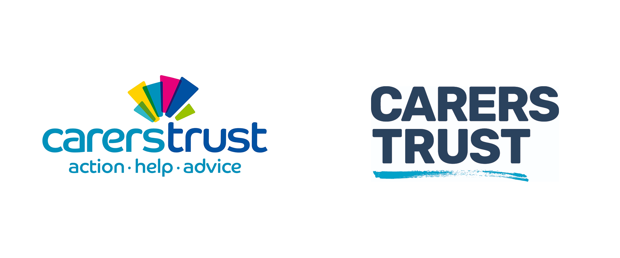 New Logo for Carers Trust