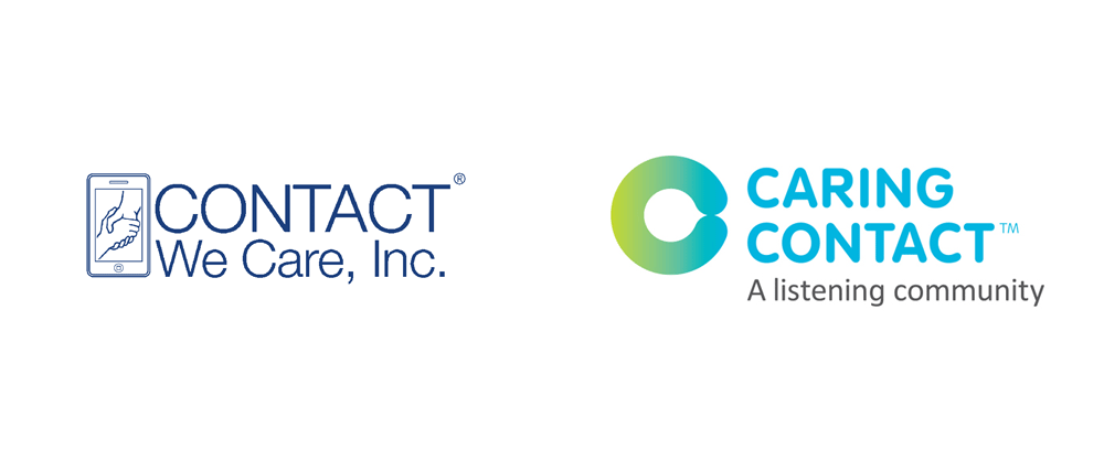 New Name, Logo, and Identity for Caring Contact by Lippincott